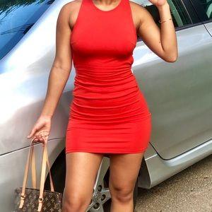 Bodycon dress.